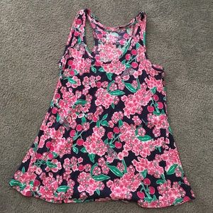 Lilly Pulitzer Cherry Blossom Tank Top